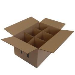 Χαρτοκιβώτια 25 Τεμ 3Φ 28x19x14 για 6 βάζα