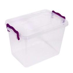 Κουτί αποθήκευσης με καπάκι 27x25x17 εκ.
