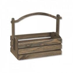 Διακοσμητικό κήπου ξύλινο 35x26x14,5