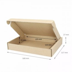Χαρτοκιβώτιο 16x11,7x2,7 DIE CUT (πρέσας)