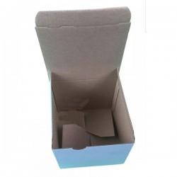 Χαρτοκιβώτιο 12x12x11DIE CUT (πρέσας) Λευκό