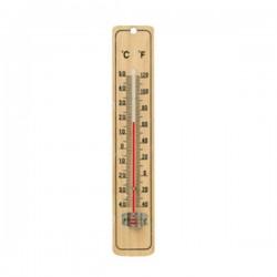 Θερμόμετρο Τοίχου Ξύλινο 21x4cm