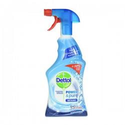Dettol spray μπάνιου 750ml (500+250ml δώρο)