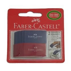 Γόμα Faber Castell 2τεμ