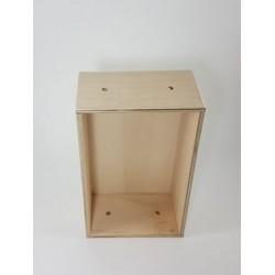 Ανοιχτό κουτί  ξύλινο 17x9x7