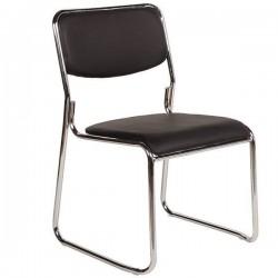 Καρέκλα Επισκέπτη Χωρίς Μπράτσα Μαύρη