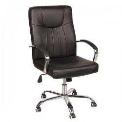 Καρέκλα Γραφείου PU με Μπράτσα