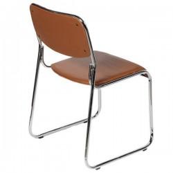 Καρέκλα Επισκέπτη Χωρίς Μπράτσα Καφέ