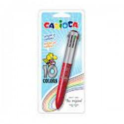 Στυλό 10 χρωμάτων Carioca ballpoint