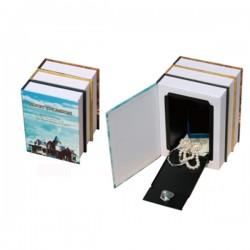 Χρηματοκιβώτιο Βιβλίο Διπλό 22 x 15 x 9cm