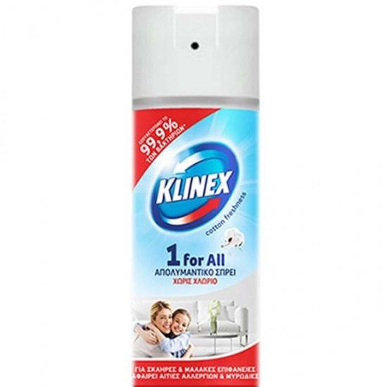 KLINEX SPRAY 1 FOR ALL 400ml COTTON