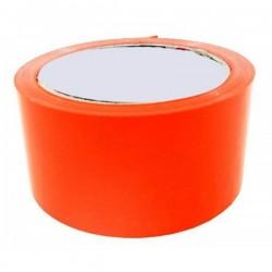 """Ταινία PVC """"FLUO"""" έντονο πορτοκαλί 48mm x 50m"""