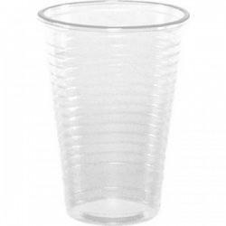 Ποτήρια πλαστικά διάφανα 200ml 100 Τεμ.