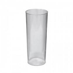 Ποτήρι πλαστικό σωλήνας 300ml /10τεμ CR