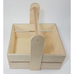 Καλαθάκι 18x15x11 με στρογγυλό χερούλι