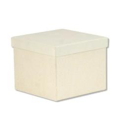 Κουτί Τετράγωνο Εκρού 14 x 14 x 11,5