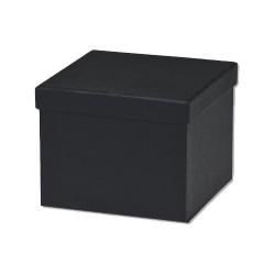 Κουτί Κύβος Mαύρο 8,5 x 8,5 x 8,5