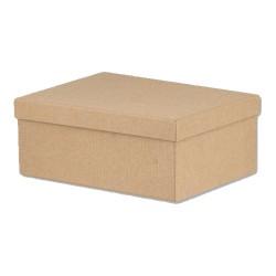 Κουτί Παραλληλόγραμμο Κραφτ 15 x 11 x 7