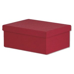 Κουτί Παραλληλόγραμμο Mπορντώ 15 x 11 x 7