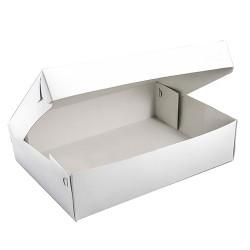 Κουτιά τούρτας λευκά 40x30x10 εκ. / 10 Κιλά