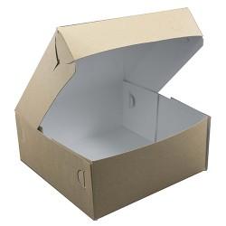 Κουτιά ζαχαροπλαστικής Νο10 κραφτ / 10 Κιλά