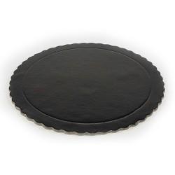 Χάρτινοι δίσκοι μαύρο χρώμα διάμετρο 20 εκ. / 10 Κιλά