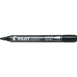 Μαρκαδόρος ανεξίτηλος Pilot μαύρος FINE