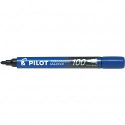 Μαρκαδόρος ανεξίτηλος Pilot μπλε FINE