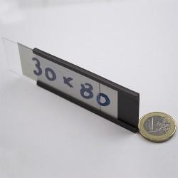 Μαγνητικό προφίλ ετικέτας PF 30x80