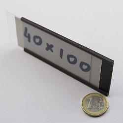 Μαγνητικό προφίλ ετικέτας PF 40x100