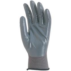 Γάντια πλεκτά NBR - nylon εργασίας
