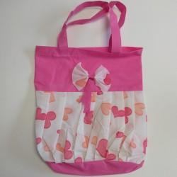 Τσάντες non woven ροζ φόρεμα 33,5x27 6Τεμ.