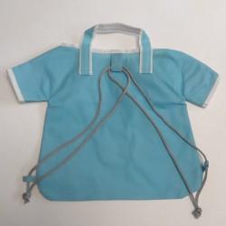 Τσάντες non woven σιέλ μπλούζα 25,5x27 6Τεμ.