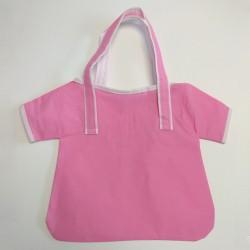 Τσάντες non woven ροζ μπλούζα 25,5x27 6Τεμ.