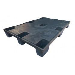 Παλέτα πλαστική βαρέως τύπου 80x120 cm
