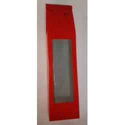 Κουτί για λαμπάδα κόκκινο 12,5x7,5x45
