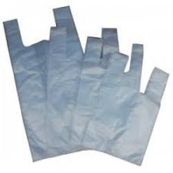Σακούλες χαρτοπλάστ Διάφανη 25x42
