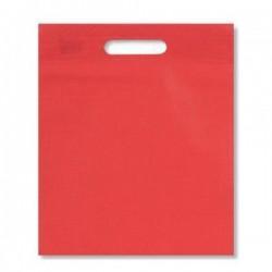 Τσάντες Κόκκινες non woven 40x50 με χούφτα 25 Τεμάχια