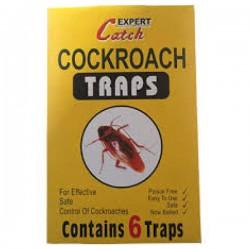 Παγίδες για κατσαρίδες σετ 6 Τεμ