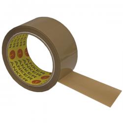 Ταινία συσκευασίας ANKER χαμηλού θορύβου καφέ 48mm x 60m PP