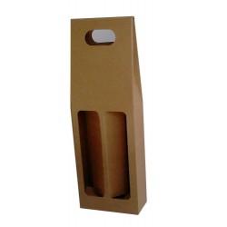 Χάρτινη καφέ τσάντα για φιάλες 250 ml