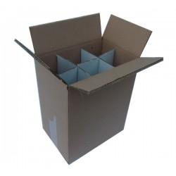 Χαρτοκιβώτια 10 Τεμ 25x16x32 για φιάλες