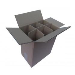 Χαρτοκιβώτια 25 Τεμ 23x16x31 για φιάλες