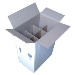 Χαρτοκιβώτια 25 Τεμ 22x15x33 για φιάλες