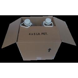 Χαρτοκιβώτια 31x31x33 για φιάλες των 5 λίτρων