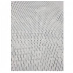 Διάτρητο χαρτί περιτυλίγματος λευκό 250m X 395mm