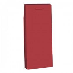 Τσάντα Δώρου Μπορντώ 9 x 42 x 8 για 1 Φιάλη