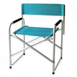 Καρέκλα Παραλίας Αλουμινίου Μπλε 8 Θέσεων