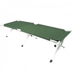 Κρεβάτι Camping Αλουμινίου Πτυσσόμενο