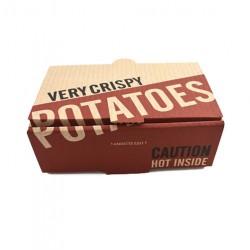 Κουτιά πατάτας Microwelle 16x10x5.5 100τεμ
